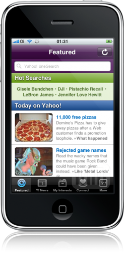 Yahoo! Mobile para iPhone