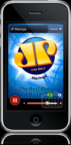 Jovem Pan Maringá no iPhone