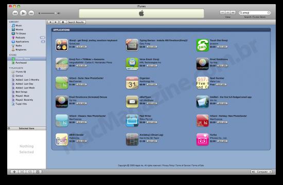 Emoji na iPhone App Store
