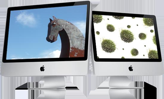 Malwares Trojans Worms no Mac