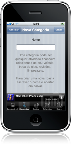 nCarsh no iPhone