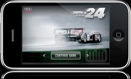 Audi Truth in 24 no iPhone