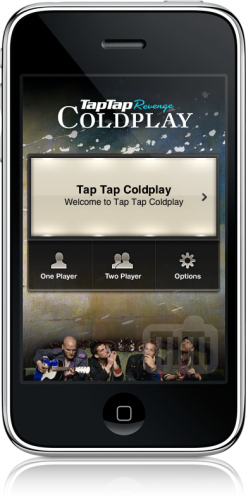 Tap Tap Coldplay no iPhone