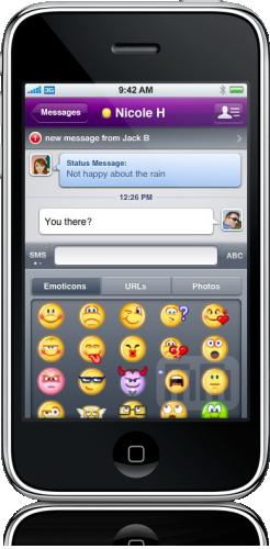 Yahoo! Messenger no iPhone