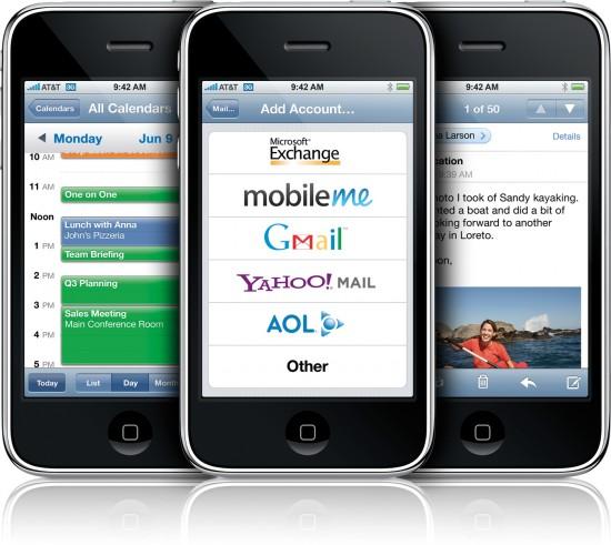 Trio de iPhones 3G