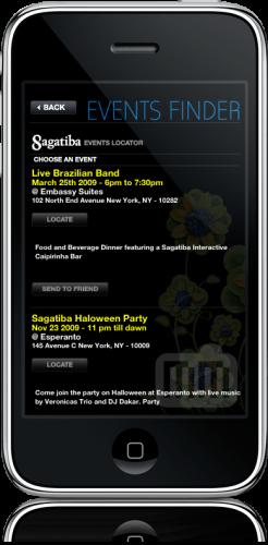 Sagatiba no iPhone