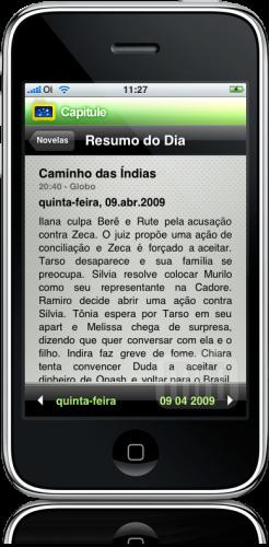 Capitule no iPhone
