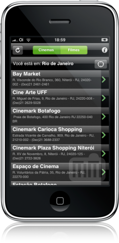 Cine Mobits no iPhone