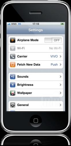 iPhone 3G sem Wi-Fi