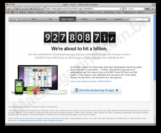 1 Billion App Countdown