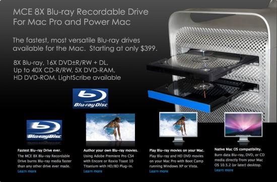 Gravador Blu-ray da MCE