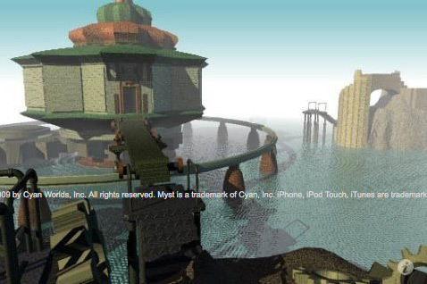 Myst no iPhone