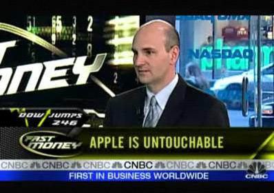 AAPL na CNBC
