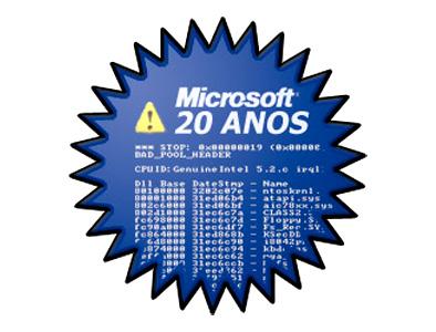 Microsoft Brasil 20 Anos