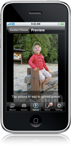 Shutterfly no iPhone