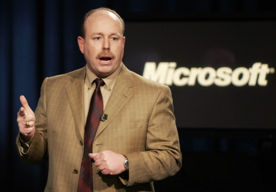 Kevin Turner, COO da Microsoft