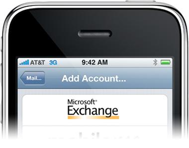 Microsoft Exchange no iPhone