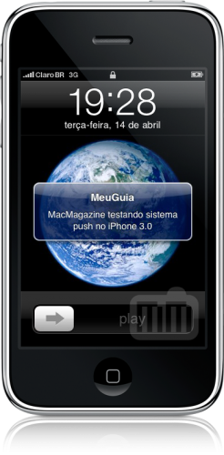 Push notifications in iPhone OS 3.0