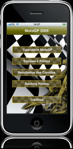 MotoGP 2009 BR no iPhone