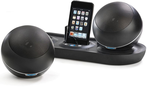Hammacher Wireless iPod Dock