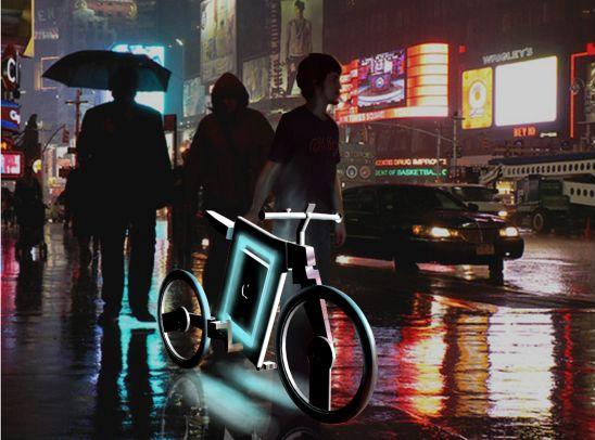 Apple iBike de noite