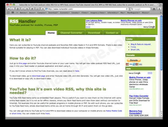 RSS Handler