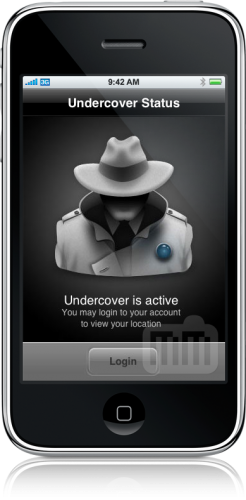 Undercover no iPhone