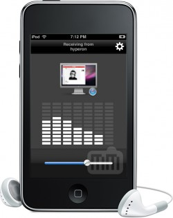 Airfoil Speakers Touch no iPod touch
