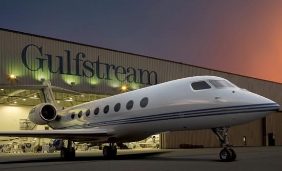 Apple's Gulfstream private jet - Steve Jobs