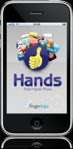 Hands no iPhone