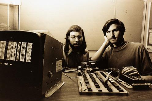 Steve Wozniak e Steve Jobs