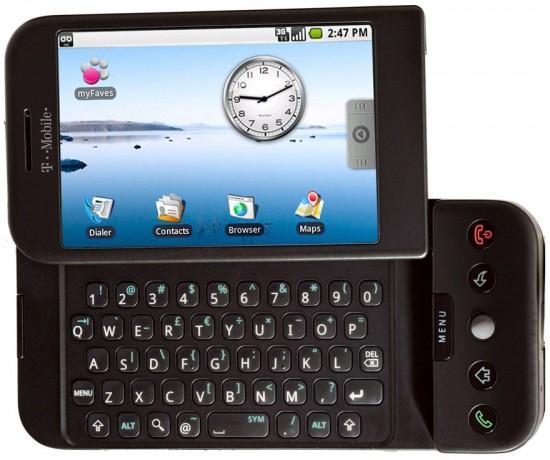 T-Mobile G1 - HTC Dream