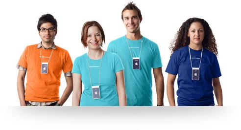 Empregados de Apple Retail Stores