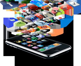 Apps saindo de um iPhone 3G