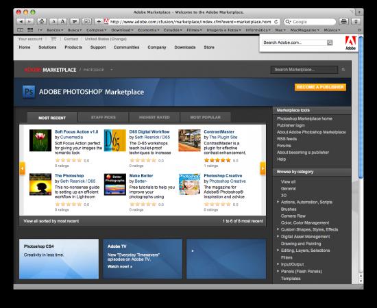 Adobe Photoshop Marketplace
