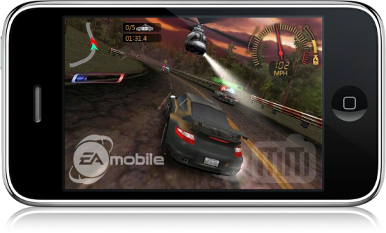 Need for Speed Undercover no iPhone