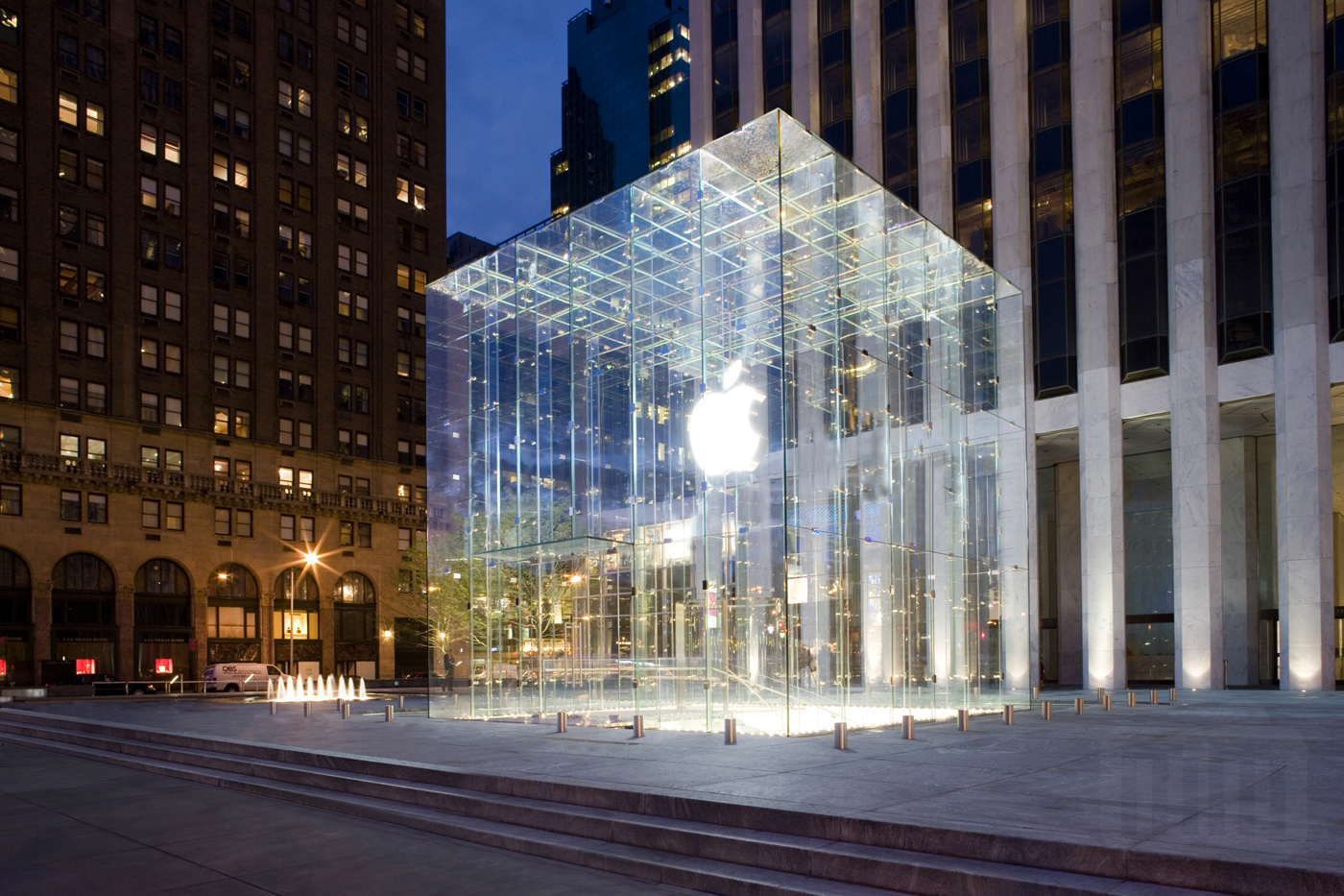 Apple Retail Store da Fifth Avenue, em Nova York