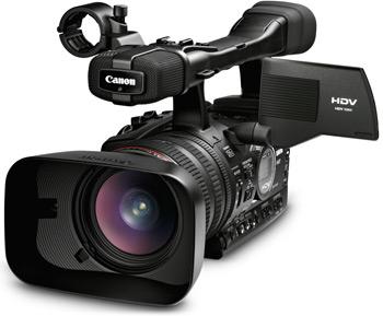 Câmera HDV da Canon