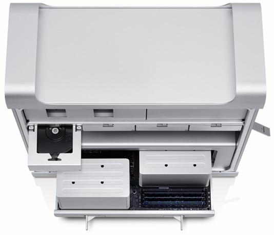 Mac Pro visto de cima