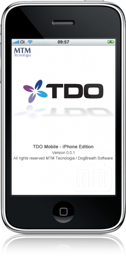 TDO Mobile no iPhone
