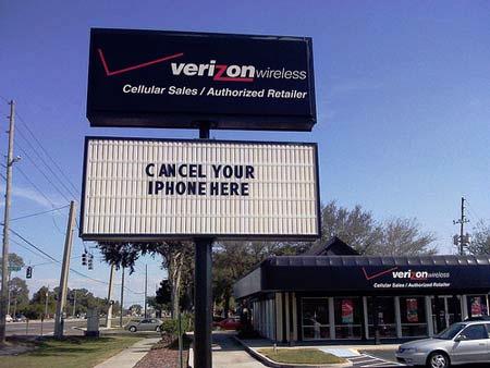 Verizon - Cancel Your iPhone Here
