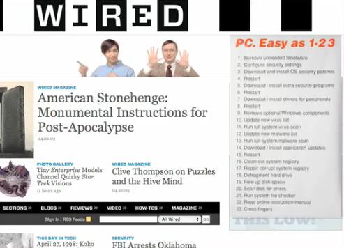 Get a Mac na Wired