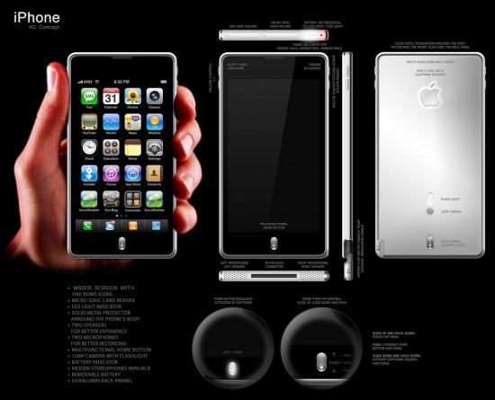 iPhone 4G Concept