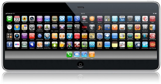 iPhone 4G tablet