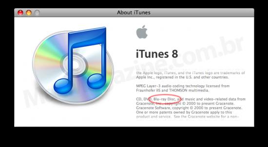 Blu-ray no iTunes 8.2