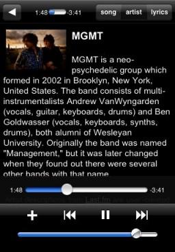 Simplify Music 2.0 para iPhone