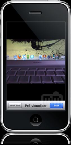 Câmera no iPhone OS 3.0 beta 4