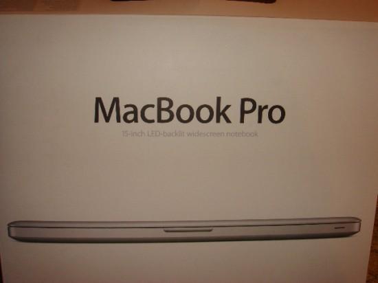 Pedra no lugar de MacBook Pro