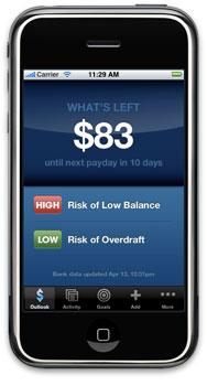 Quicken Online Mobile no iPhone