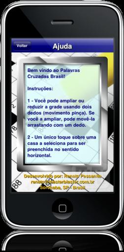 Palavras Cruzadas no iPhone